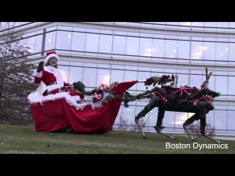 Merry Christmas From Boston Dynamics Team!