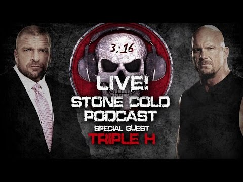 Stone Cold Podcast With Guest Triple H - Tonight On WWE Network After Raw