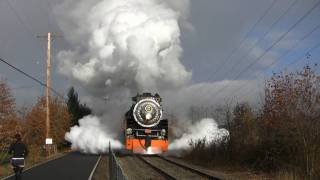 HD (bonus) SP 4449 Holiday Express Steam Train
