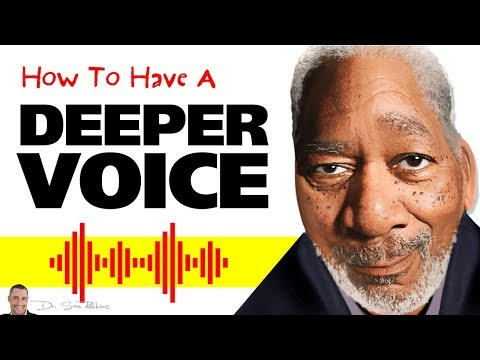 💪 How To Have A Deeper Voice, Permanently & Naturally