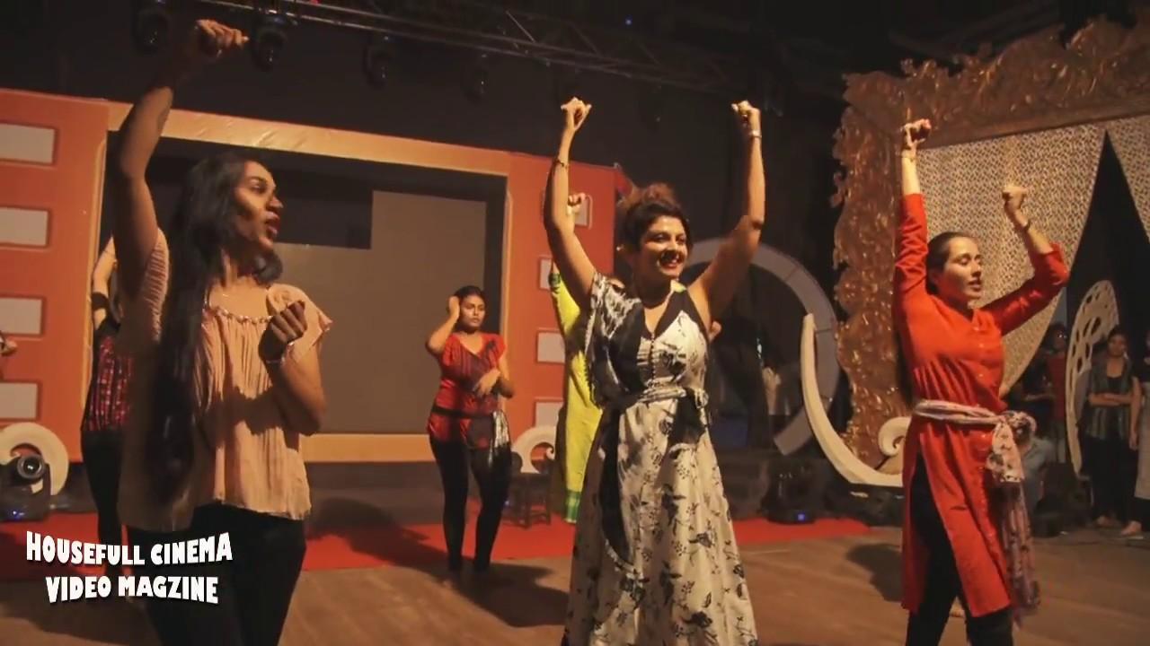 Download Dance trance rehearsal, Varsha Usgaonkar, Vaishali Jadhav & Tejasvini Lonari for Chitrakarmi Purask