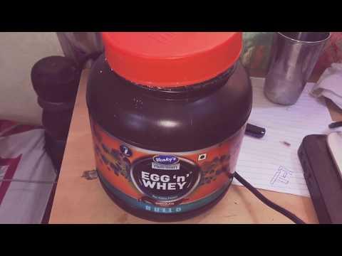Venkys (mango and chocolate) egg n whey unbox