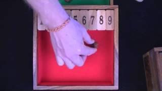 Shut The Box Game #1-9 New Model