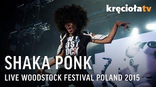 Shaka Ponk na Przystanku Woodstock 2015 - koncert w CAŁOŚCI