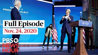 PBS NewsHour live episode, Nov. 24, 2020