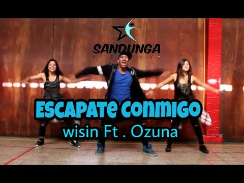 Escapate conmigo  Wisin ft ozuna coreografia Sandunga