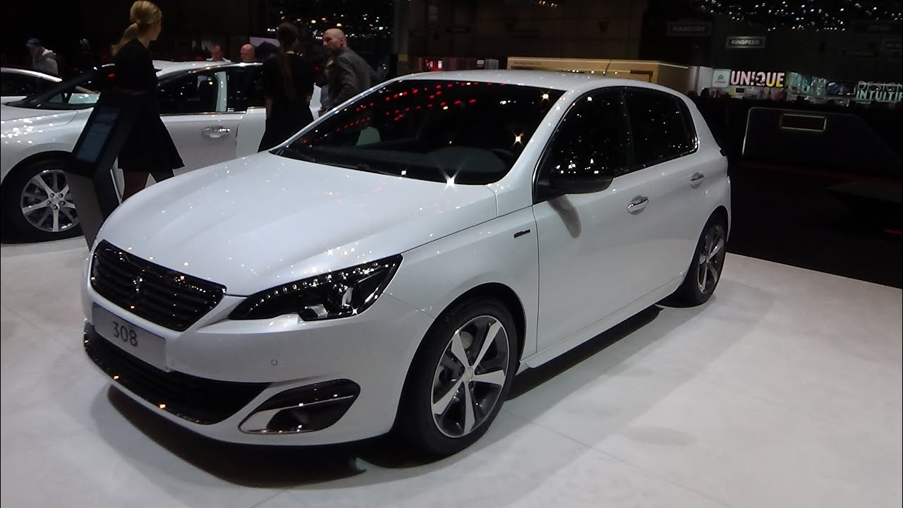 2016 peugeot 308 gt line exterior and interior geneva motor show 2015 youtube. Black Bedroom Furniture Sets. Home Design Ideas