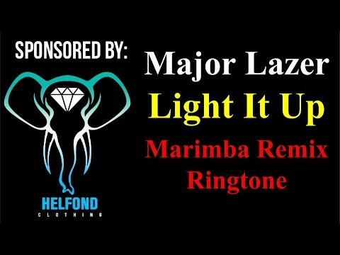 скачать рингтон light it up major lazer