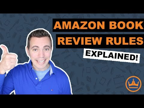 Amazon Book Review Rules (Explained!)