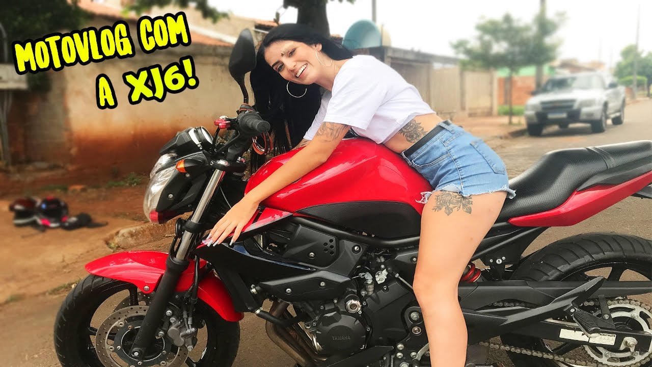 PRIMEIRO MOTOVLOG COM A XJ6!!