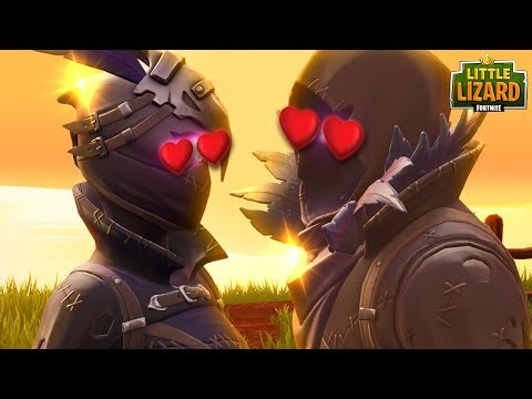 RAVEN AND RAVAGE GO ON A DATE  FORTNITE SHORT FILMS