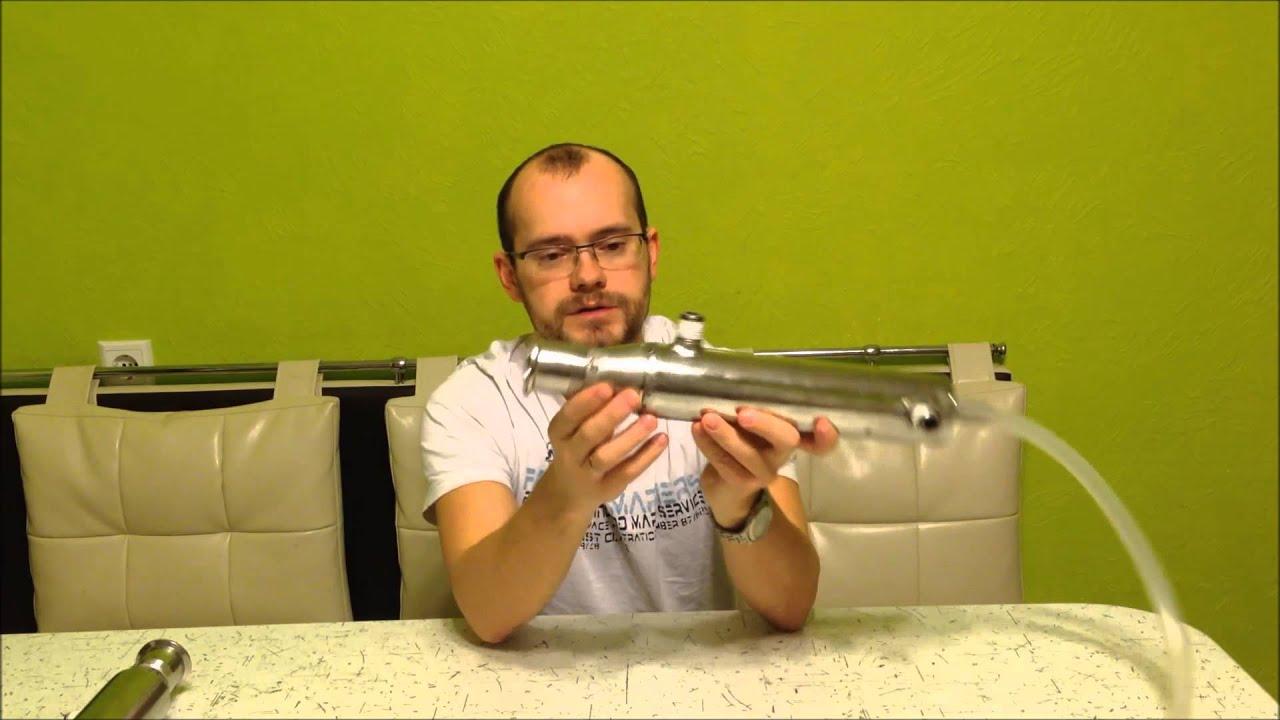 Трубчатый теплообменник (Пастеризатор) - YouTube