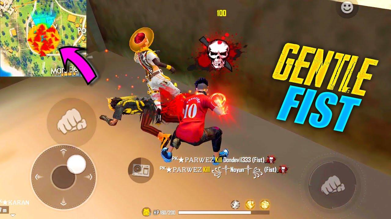Garena Free Fire King Of Factory Fist Fight | Amazing Headshot Hacker OP Gameplay - P.K. GAMERS