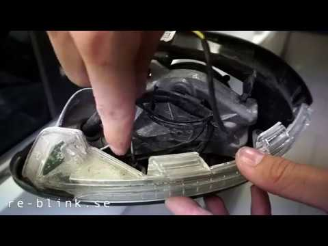 VW Golf 5 how to activate mirror down with reverse gear /mirror lowering/