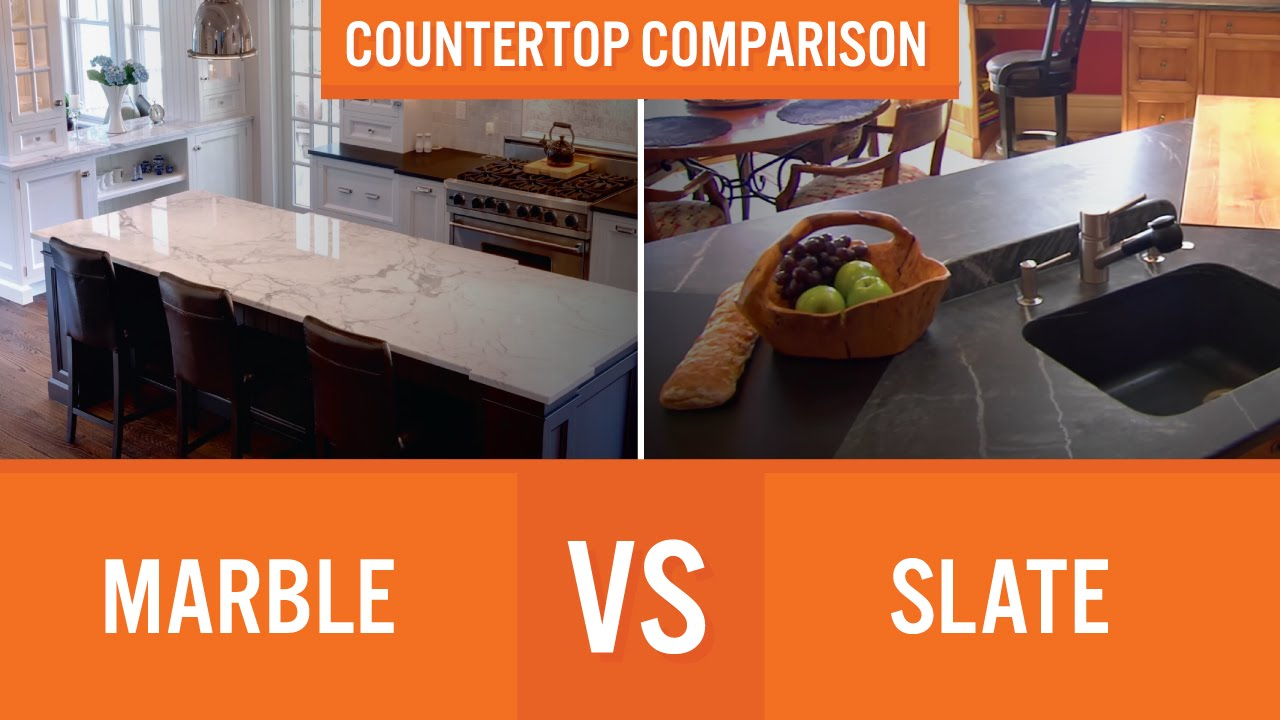 Marble Vs Slate | Countertop Comparison