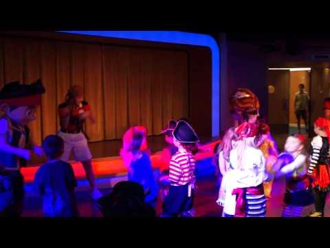 Disney Magic Cruise Ship: Disney Junior Pirate Dance Party