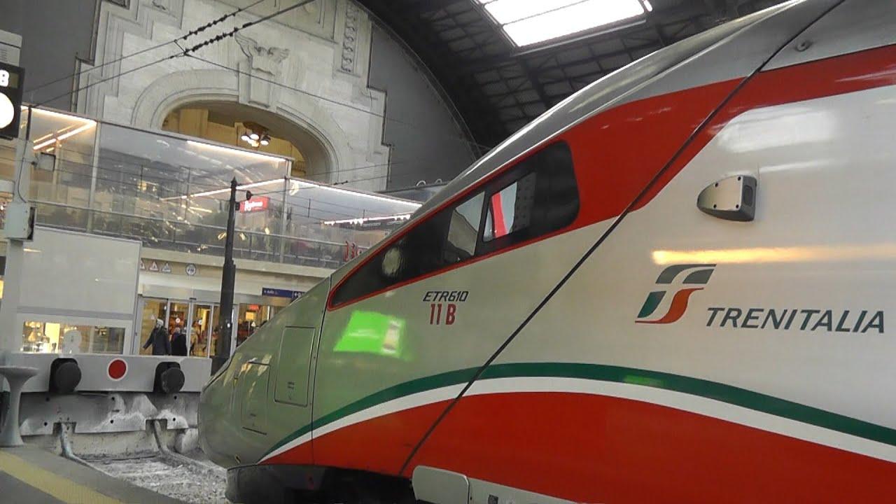 Milan to Zürich by Trenitalia EuroCity | FunnyDog.TV