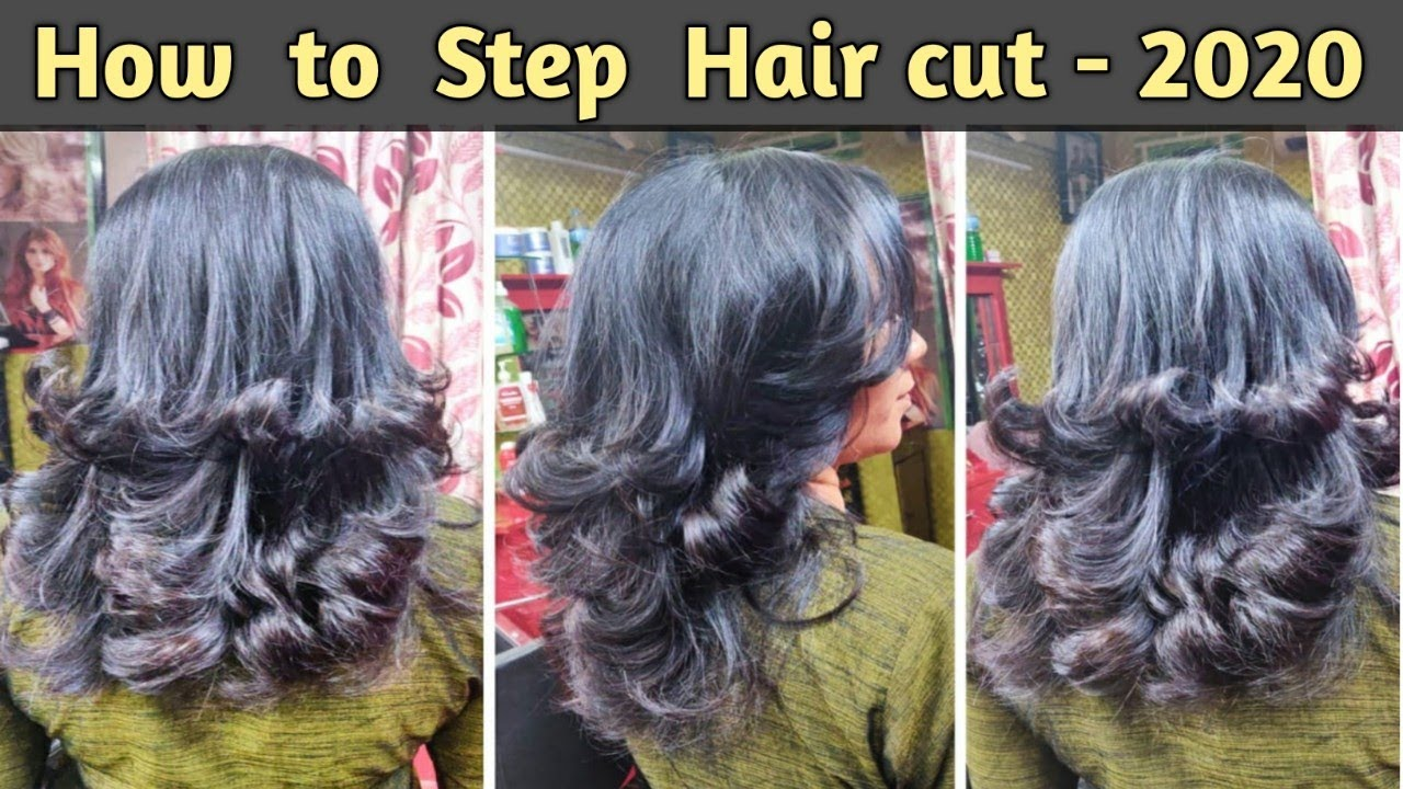 How to Step Hair cut 10 in Hindi / Step with Layer Hair cut