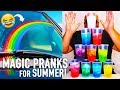 10 Magic Pranks for Summer