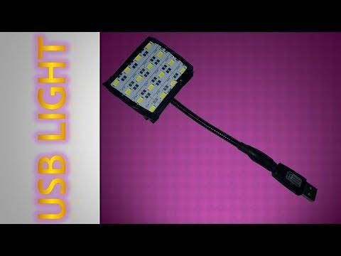 How To Make USB LED Light
