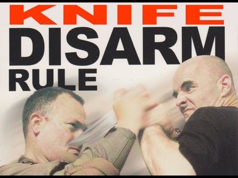 The Jim Wagner Knife Disarm Rule for Police & Military