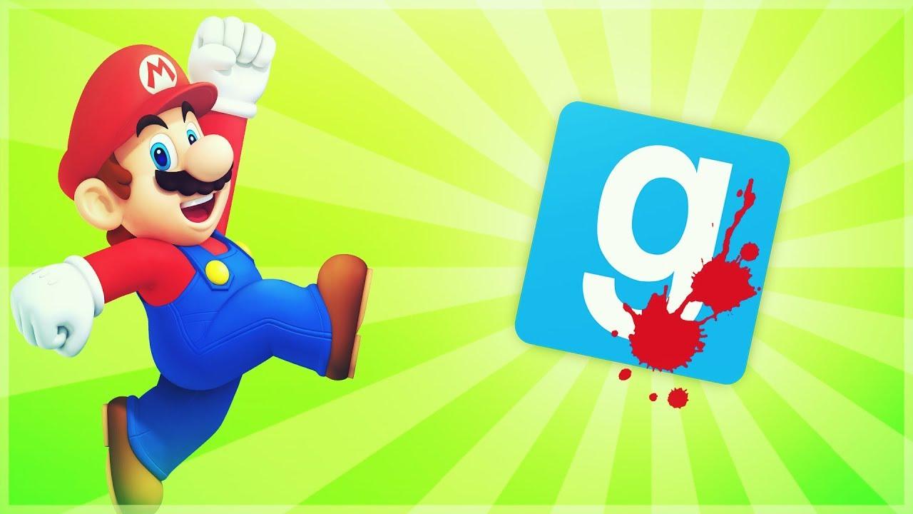 GMOD - Death Run Mario Edition - Deek - Comedy Gaming