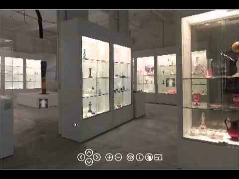 Brief Walk Through of the New Bedford Museum of Glass Virtual Tour