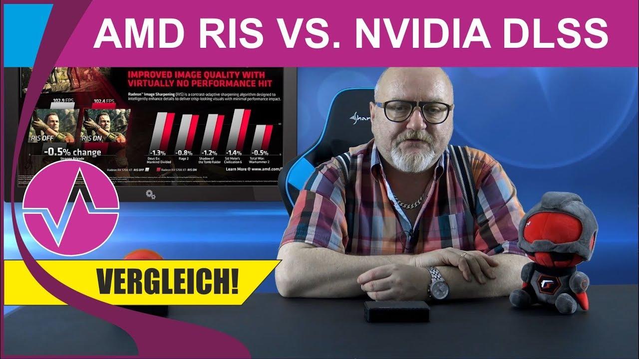 Radeon Image Sharpening vs. Nvidia DLSS vs. Nvidia ...