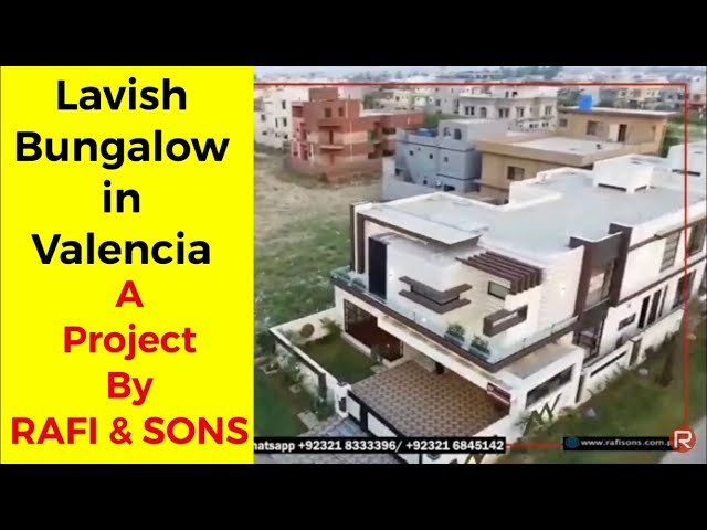 1 Kanal Luxurious CORNER PAIR in Valencia Town | RAFI and SONS