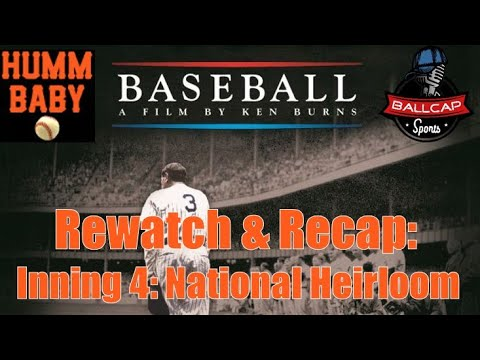 BABE RUTH Was The GOAT - A National Heirloom (Ken Burns Baseball Inning 4: Game Rewatch)