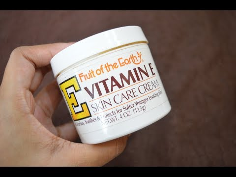 Fruit Of The Earth Vitamin E Skin Care Cream Review | Beauty Express