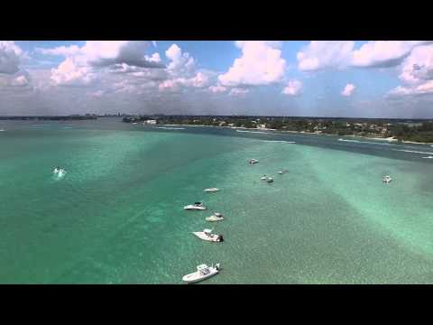 Big Pass by Drone | DJI Phantom 3 | Sarasota, FL