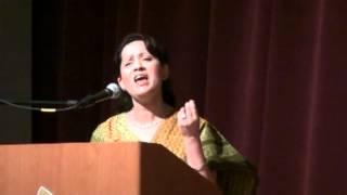 Gesu-e-Taabdaar Ko by Allama Iqbal (voice Anupama Chandratreya)