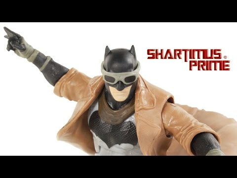 DC Multiverse Knightmare Batman v Superman Dawn of Justice Movie Mattel Toy Action Figure Review