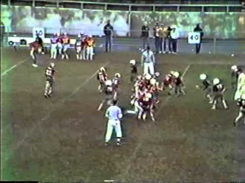 Southpark vs Belmont - Pop Warner - Belmont Bowl - 1986