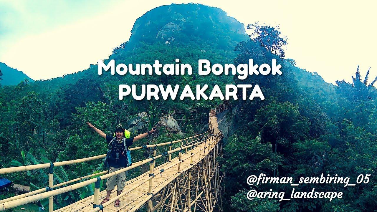 Mendaki Gunung Bongkok Sasak Panjang Purwakarta Jawa Barat Vlog Youtube