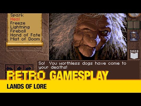 Retro GamesPlay - Lands of Lore + Extra Round: Snipes