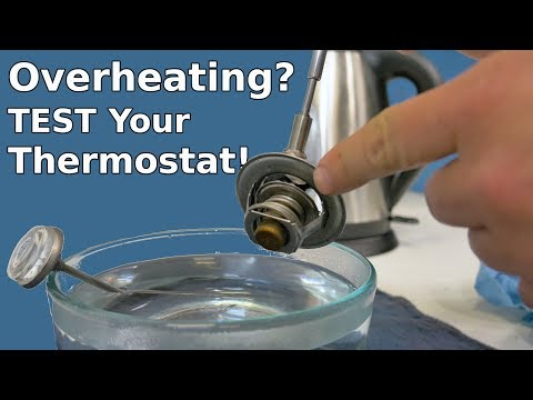 How to Test a Thermostat | Thermostat Test Boiling Water