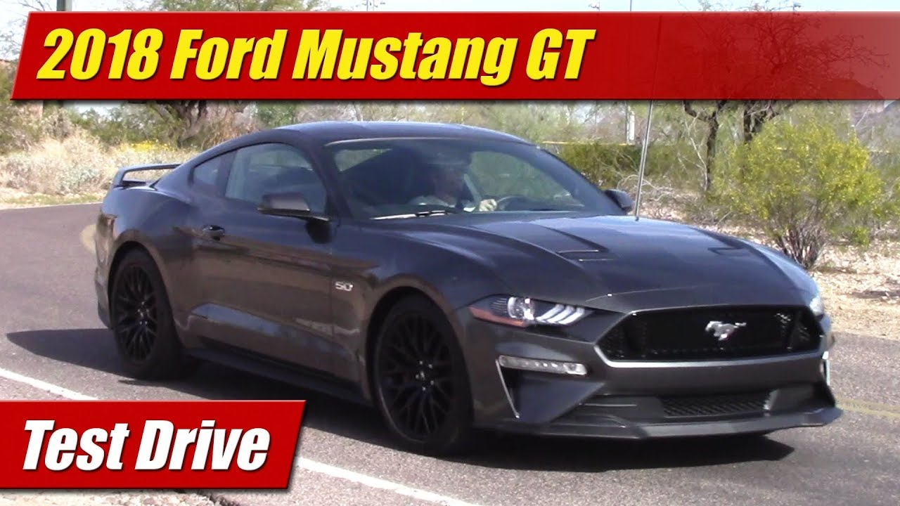 2018 mustang gt test drive