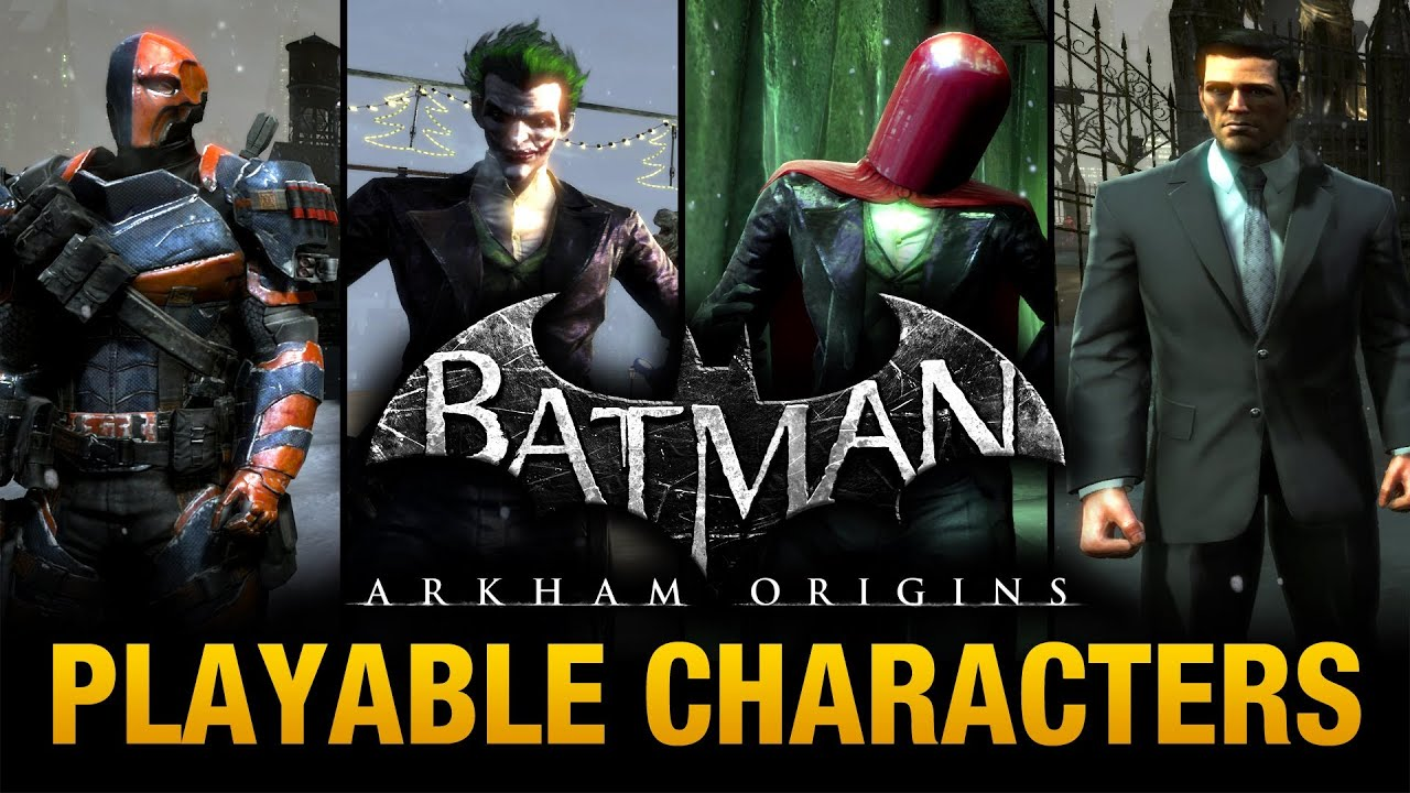 Batman: Arkham Origins - Playable Characters Mod (Free ...