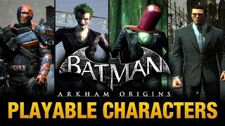 Batman: Arkham Origins - Playable Characters Mod (Free Roam) thumbnail