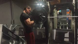 Barbell curl 52 kg ( 115 pound )