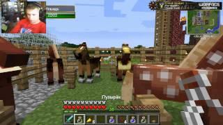 Как разводить лошадей в  Minecraft!!!