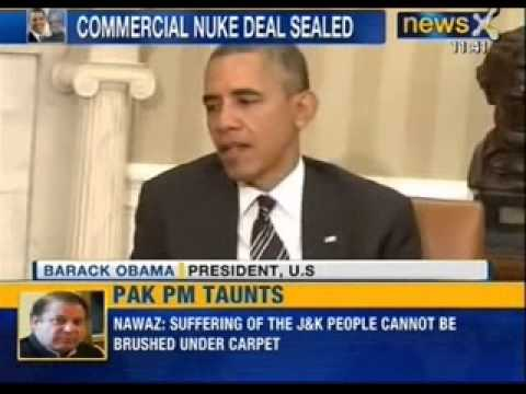 News X: PM meets Obama, says Pakistan remains 'epicentre of terror'