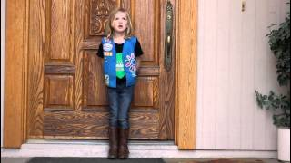 Kaylee s Girl Scout Cookie Commercial 2014