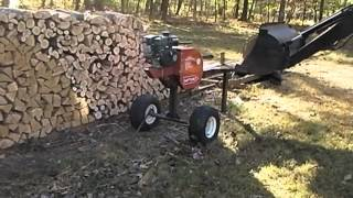 One-Man Cordwood Operation: Complete Process