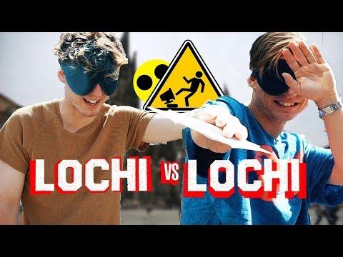 BLIND ans Ziel kommen - Lochi vs Lochi