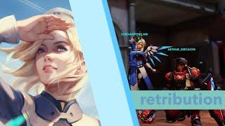 Dificuldade Lendária: Retribution como Mercy [Todos os heróis] - Overwatch