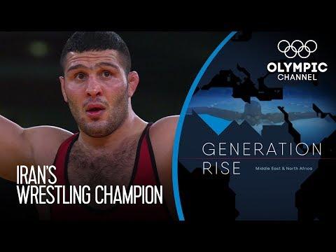 World Champion Reza Yazdani