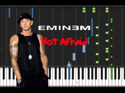 Eminem - Not Afraid [Piano Tutorial] (♫)